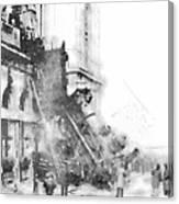 Gare Montparnasse 1895 Canvas Print