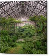 Garfield Park Conservatory Main Pond Canvas Print