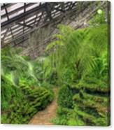 Garfield Park Conservatory Path Chicago Canvas Print