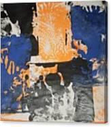 Gargoles In The Shadows Canvas Print