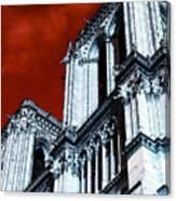 Gargoyle Pop Art Canvas Print