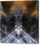 Gargoyle Priestess  Canvas Print
