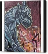 Gargoyle Madness Canvas Print