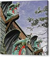 Gargoyles Galore Canvas Print