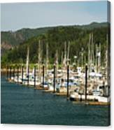 Garibaldi Oregon Marina Canvas Print