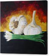Garlic And Onion Canvas Print