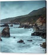 Garrapata Beach, Big Sur, California Canvas Print