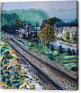 Garrison Station Canvas Print