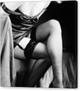 Garters And Stockings Canvas Print