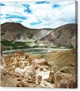 Garuda Valley Tibet Yantra.lv Canvas Print