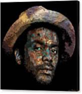 Gary Clark, Jr. No. 2 Canvas Print