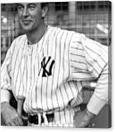 Gary Cooper As Lou Gehrig In Pride Of The Yankees 1942 Canvas Print