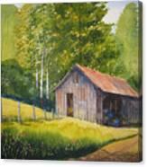 Gary's Garage Canvas Print