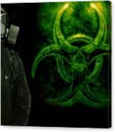 Gas Mask Canvas Print