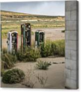 Gas Station Relics Canvas Print