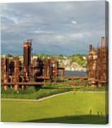 Gas Works Park In Seattle Washington Canvas Print