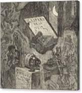 Gaspard De La Nuit Canvas Print