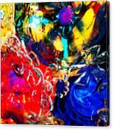 Gass Art Canvas Print