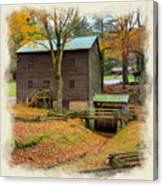 Gastons Mill 2 Canvas Print