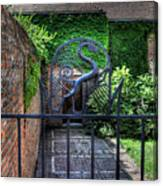 Gate And Arch Canvas Print