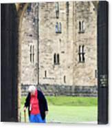 Gate At Alnwick Castle Canvas Print
