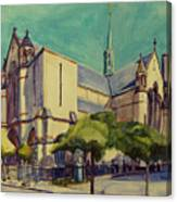Gate Of Heaven Church Canvas Print