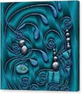Gate To Atlantis Canvas Print