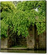 Gate To Cam Waters. Canvas Print