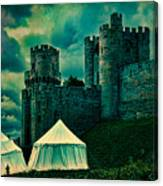 Gate Tower At Warwick Castle Canvas Print