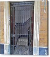 Gated Door Cadiz Canvas Print & Gated Door Cadiz Photograph by Mark Victors