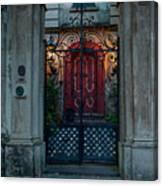 Gates Of Charleston Sc Canvas Print