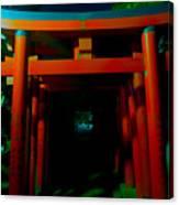Gates Of Inari Canvas Print