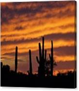 Gates Pass Sunset Canvas Print