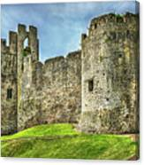 Gateway To Chepstow Castle Canvas Print