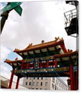 Gateway To Chinatown Canvas Print