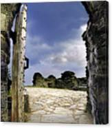 Gateway To The Castle  Canvas Print
