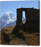 Gateway To The Gods 2 Canvas Print