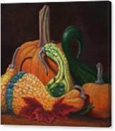 Gathering Of The Gourds Canvas Print