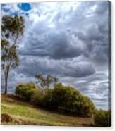 Gathering Storm Clouds Canvas Print