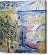 Gathering Water Canvas Print