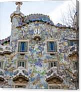 Gaudi Architecture  Canvas Print