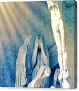 Gaudi Crucifixion Canvas Print