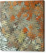 Gaudi Mozaic Abstraction Canvas Print