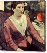 Gaugin: Marie Derrien, 1890 Canvas Print