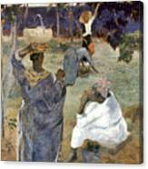 Gauguin: Martinique, 1887 Canvas Print