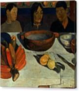 Gauguin: Meal, 1891 Canvas Print