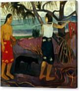 Gauguin: Pandanus, 1891 Canvas Print