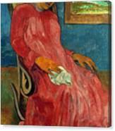Gauguin: Reverie, 1891 Canvas Print