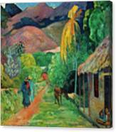Gauguin Tahiti 19th Century Canvas Print