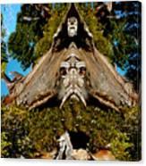 Gaurdian Of The Woods Canvas Print
